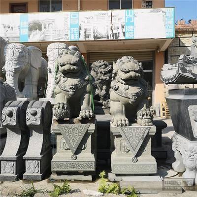 供应清石狮子 福建石雕厂