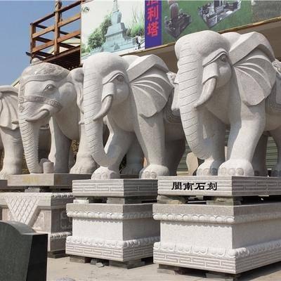 石雕大象  惠安石雕厂