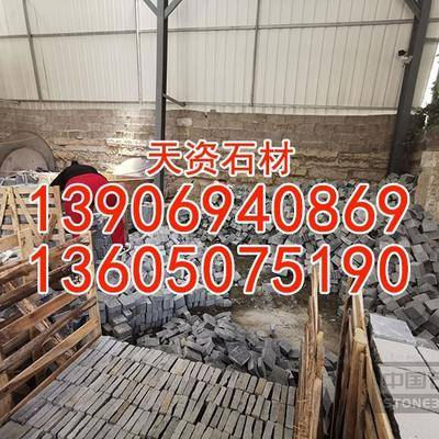越南黑石材价格小料石方块石弹石