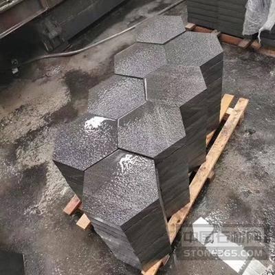 中国黑六边形