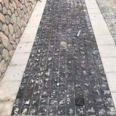 黑青石自然面小方块