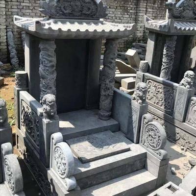 黑青石墓碑成品
