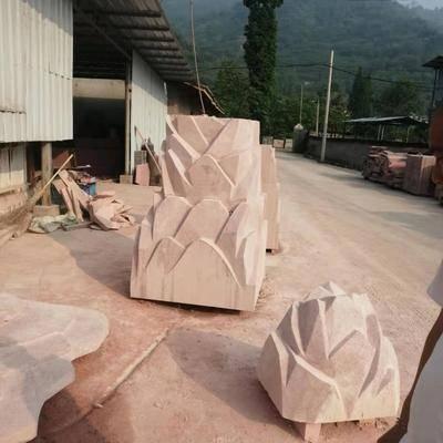 中国红石雕