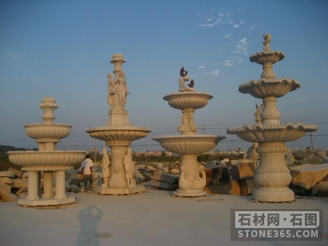 诚招石雕水钵、石雕喷泉