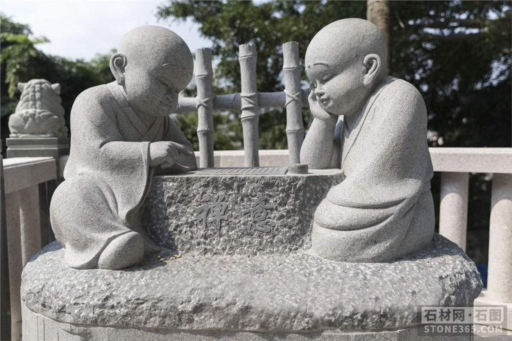 诚招寺庙园林雕塑、禅意石雕小沙