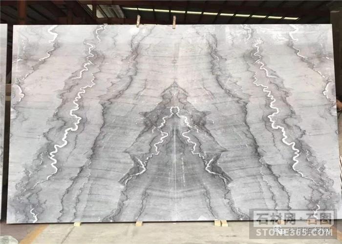 提供天然布鲁斯灰大理石板材