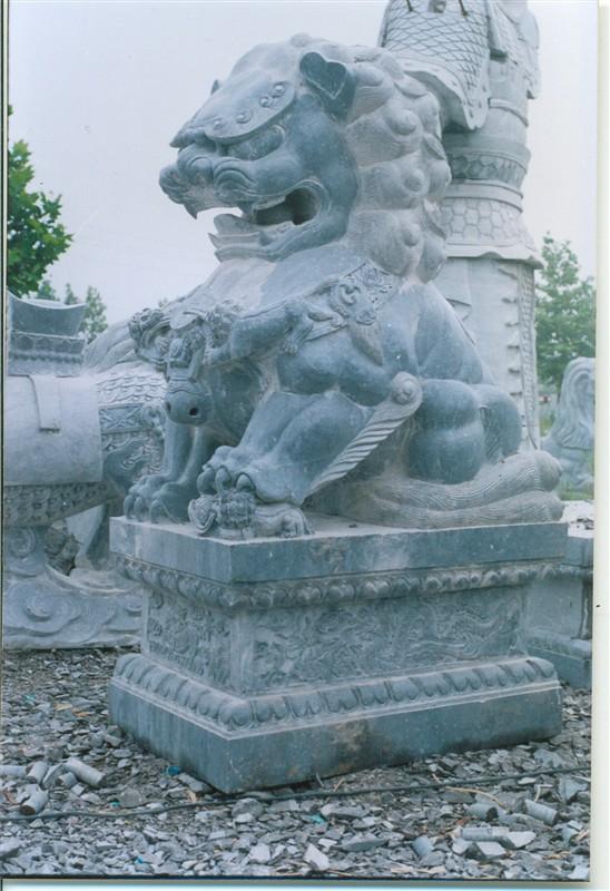 供应石狮、青石石狮、石狮加工厂、北京石狮、故宫石狮