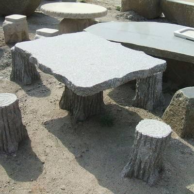 石桌,石凳