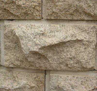 山东黄锈石蘑菇石花岗石材