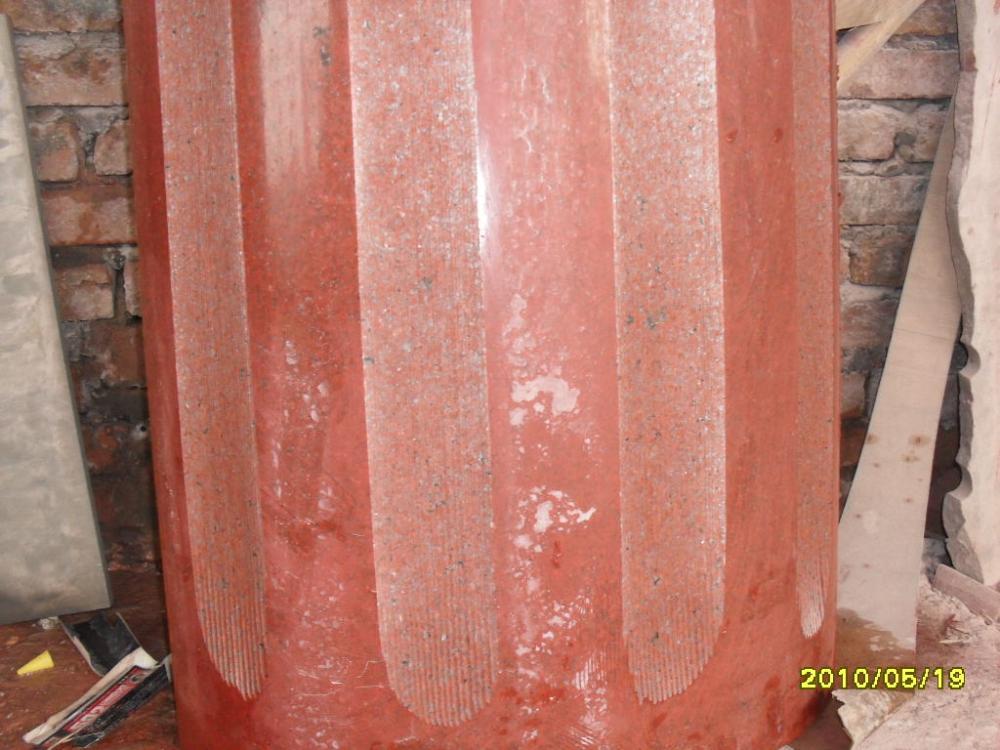 四川红异形石材