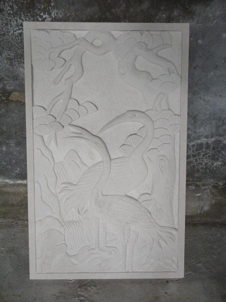 供应白砂岩浮雕