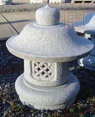 路灯笼,日式灯笼,园林灯笼,石