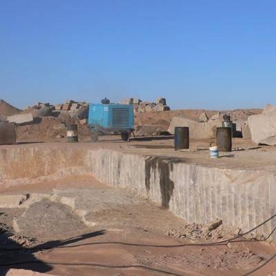 新疆浙商卡拉麥裏金礦區