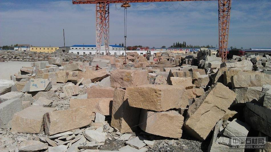 新疆卡拉麦里金荒料