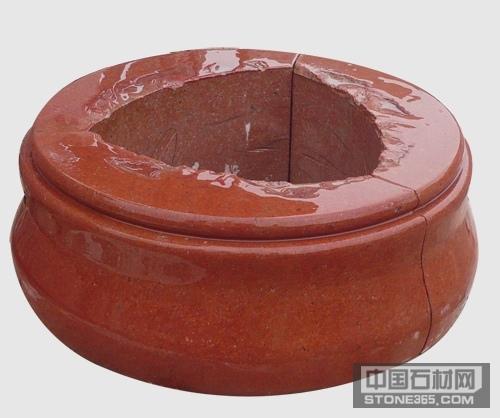 四川红异型石材