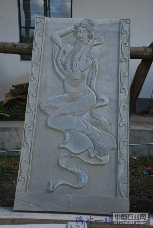 云南腾冲火山石浮雕雕刻