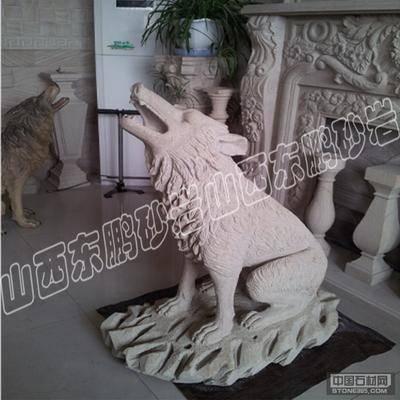 山西砂岩异性雕塑01