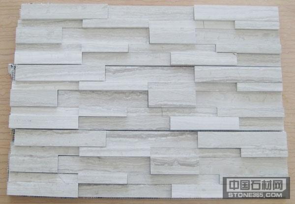贵州木纹马赛克大理石背景墙