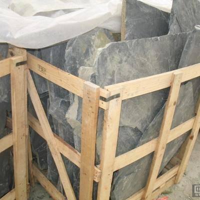 供应板岩锈色乱形石
