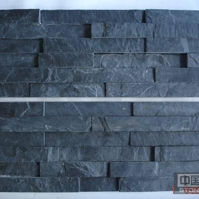 供应板岩黑色平板文化石