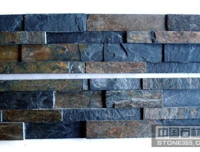 供应板岩混色平板文化石