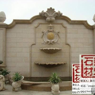 供应石材壁泉