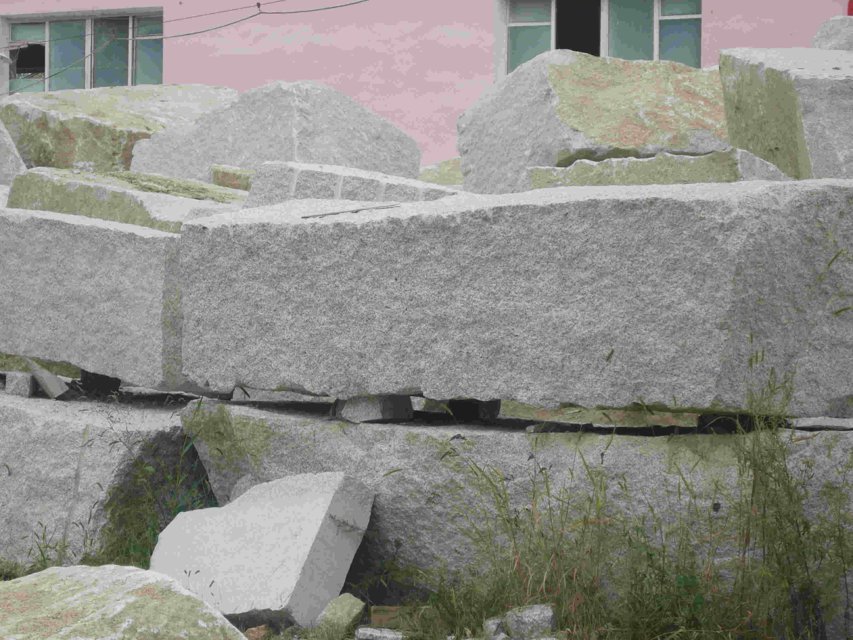 花岗岩毛料