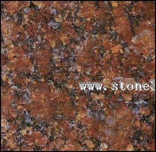 佳斯红或宝石红花岗岩