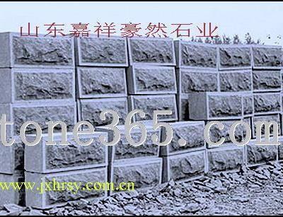 供应各种规格的墙石、蘑菇石