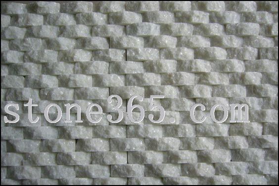 水晶白波浪面砖
