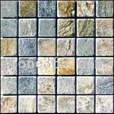 马赛克、鹅卵石、水磨石子导盲石