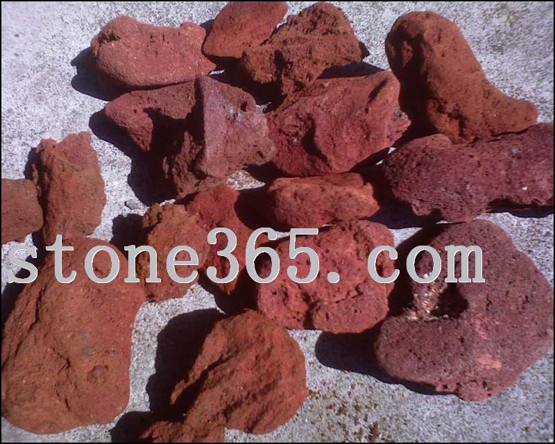 红火山洞石
