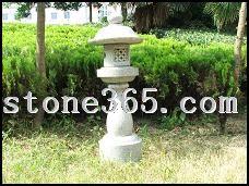 各种类型的石灯笼