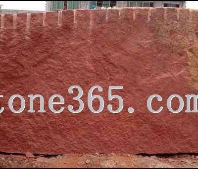 中国红花岗石荒料