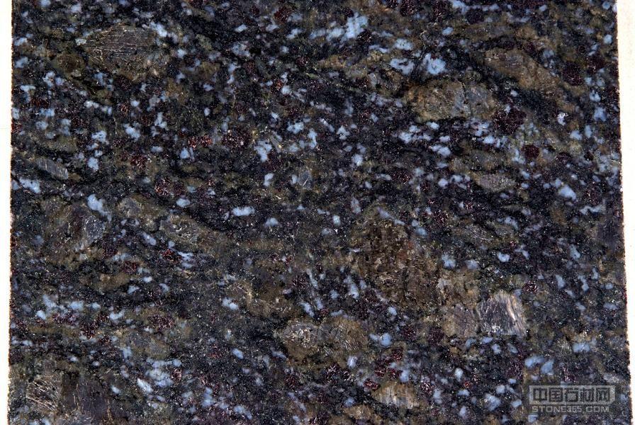 蝴蝶蓝(蝴蝶兰)花岗岩石材