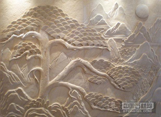 天然砂岩浮雕