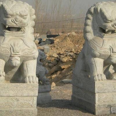 石雕 雕刻 石狮子
