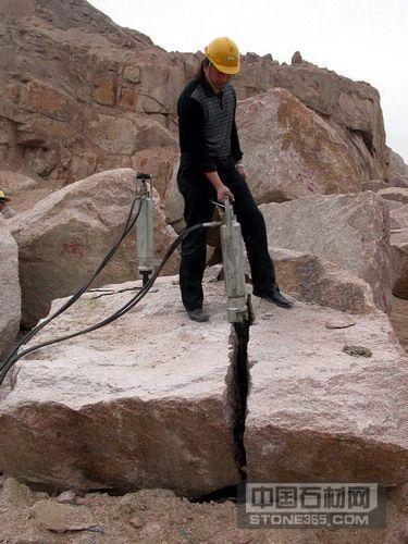 凯奥机械专业产销岩石分裂机