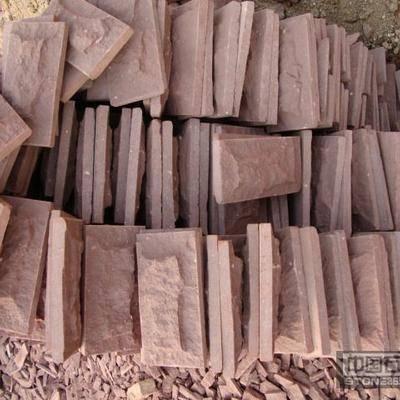供应红砂岩板材