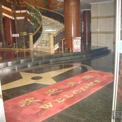 宣化宾馆迎宾大厅地面