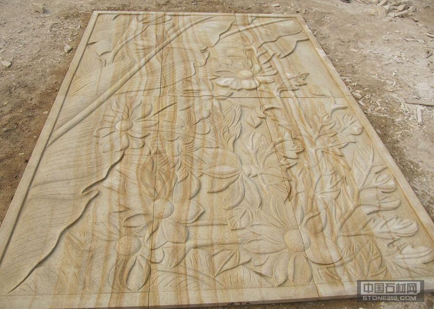 山西木纹砂岩浮雕