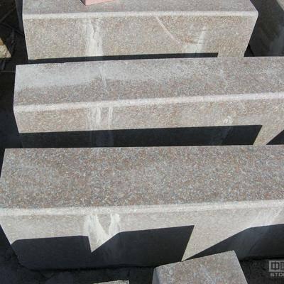 五莲红蘑菇石|1000*300*150五莲红路沿石|五莲红桥栏杆