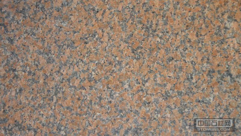 杭州枫叶红花岗岩石材